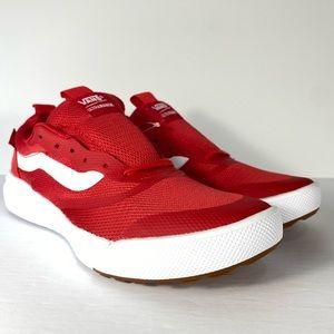 Vans UltraRange Rapidweld Racing Red Sneakers